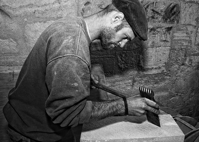 qualités requises pour être tailleur de pierre
