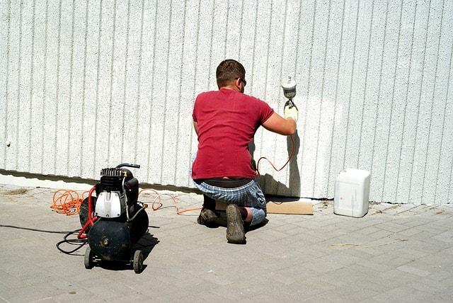 Métier peintre en bâtiment